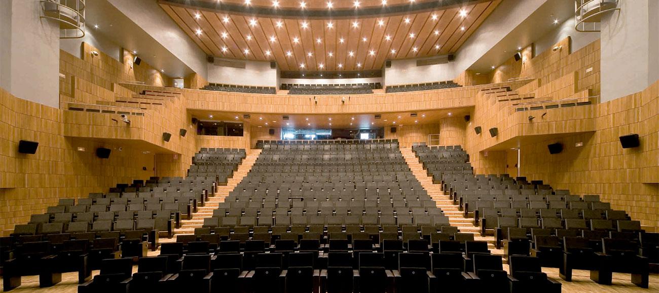 Palacio Congresos Huesca Interior